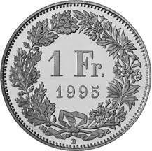 1Fr. Münze