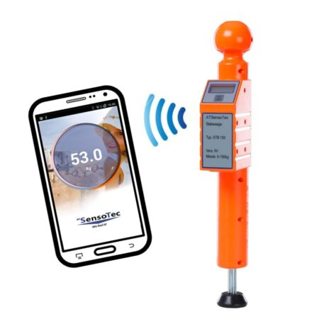 Stützlastwaage mit Bluetooth